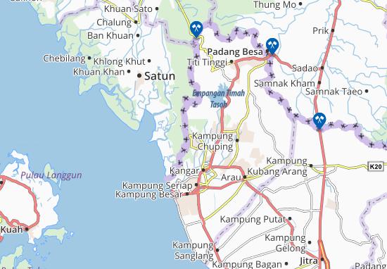 Kurong Batang Map