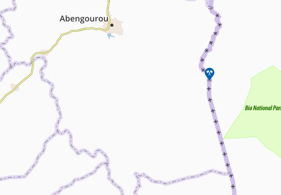 Carte-Plan Akouaba