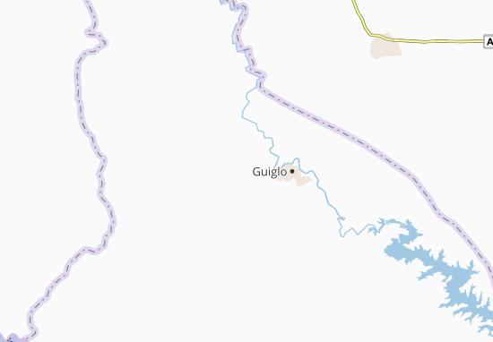 Carte-Plan Goulégui-Guézon