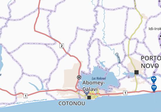 Agassa Godomey Map
