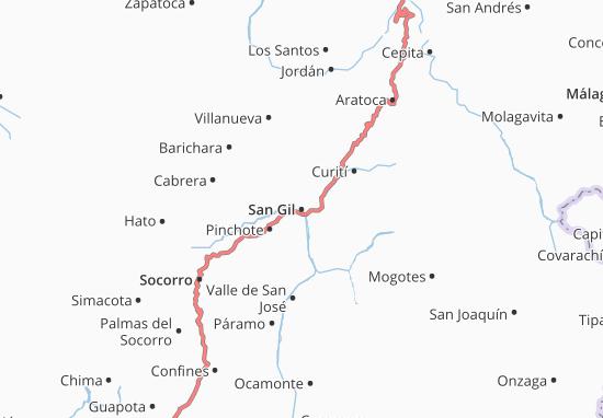 Carte-Plan San Gil