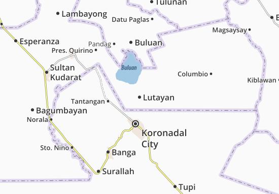 Lutayan Map