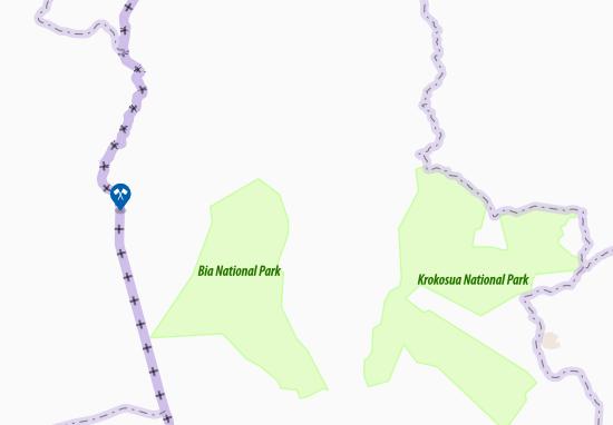 Adwufia Map