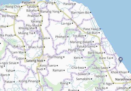 Kaart Plattegrond Thung Yang Daeng