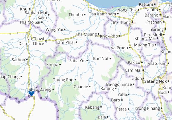 Saba Yoi Map