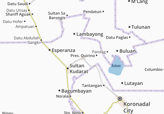 Tacurong Map