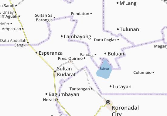 Pres. Quirino Map