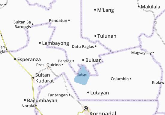 Buluan Map