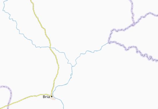Carte-Plan Ngouarapa