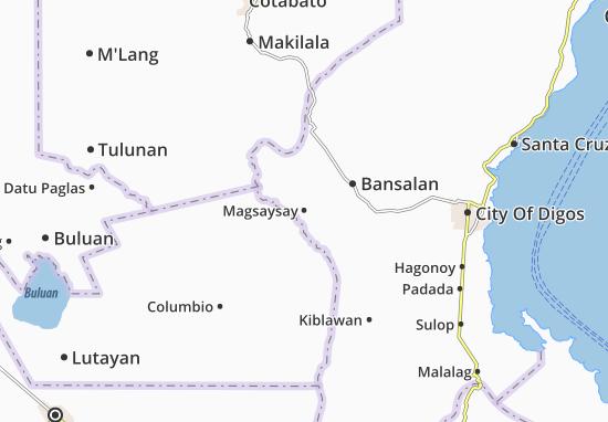 Mappe-Piantine Magsaysay