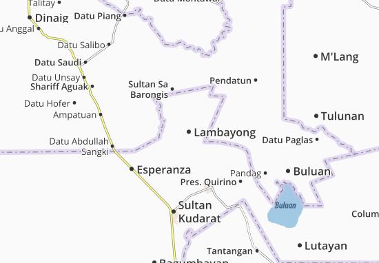 Mapas-Planos Lambayong