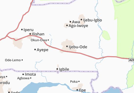 Mappe-Piantine Ijebu-Ode