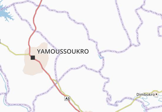 Carte-Plan Abouakouamékro