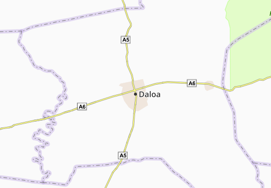 Carte-Plan Daloa