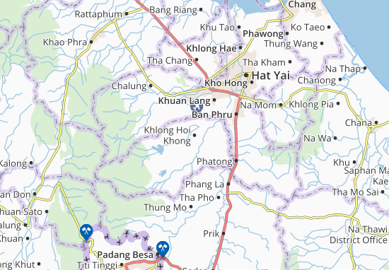 Khlong Hoi Khong Map