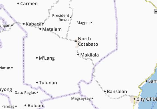 Mappe-Piantine Makilala