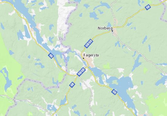Mapa Plano Fagersta