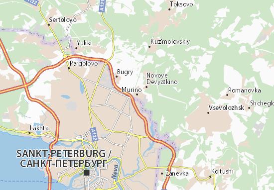 Karte Stadtplan Murino
