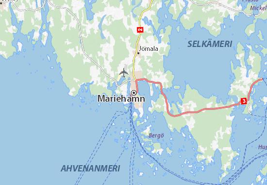 Mariehamn Map