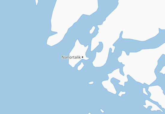 Nanortalik Map
