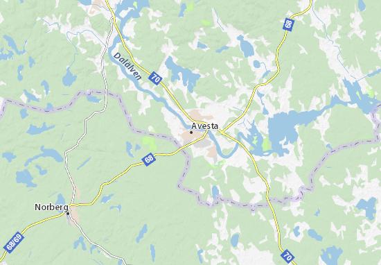 Avesta Map