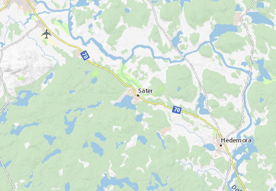 Säter Map