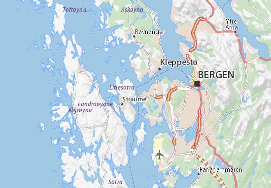 Knarrevik Map
