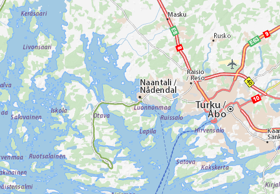 Naantali Map