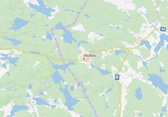 Mapa Plano Hofors