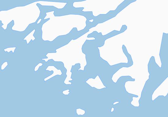 Kaart Plattegrond Qaersutsiaq