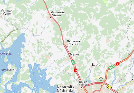 Mappe-Piantine Nousiainen