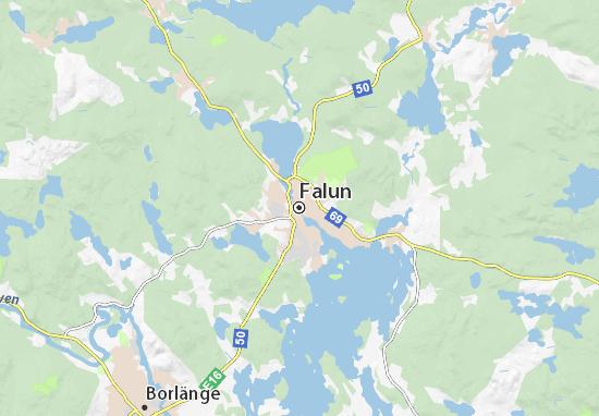 Falun Map