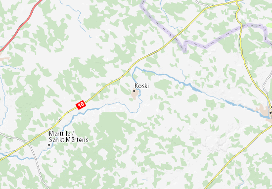 Mapa Plano Koski