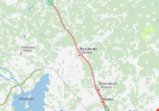 Mynämäki Map