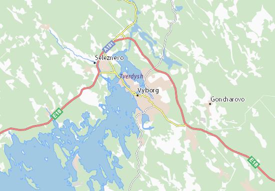 Mapas-Planos Vyborg