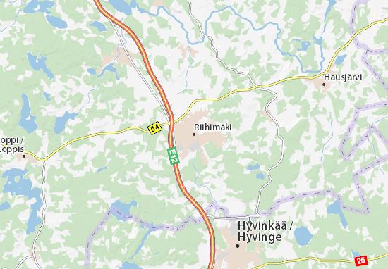Riihimäki Map