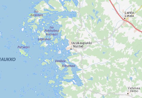 Uusikaupunki Map
