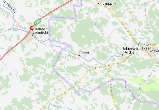 Ypäjä Map