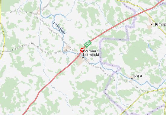 Loimaa Map