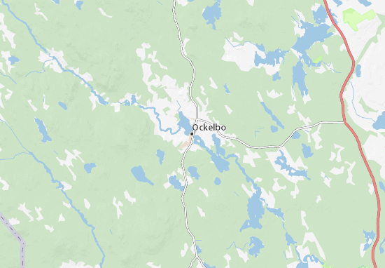 Mapa Plano Ockelbo