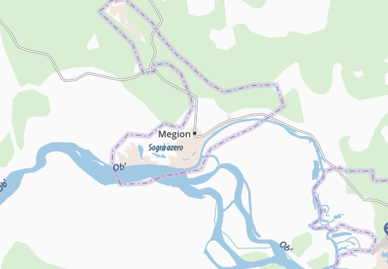 Carte-Plan Megion