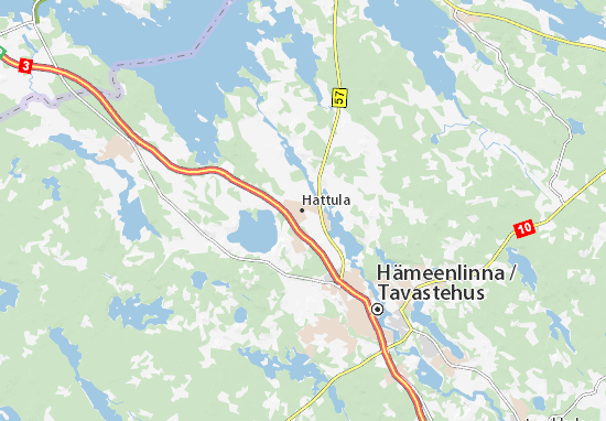 Mapa Plano Hattula