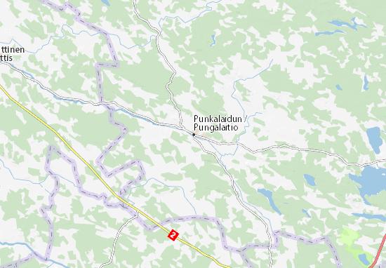 Mapa Plano Punkalaidun