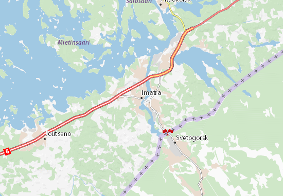 Imatra Map