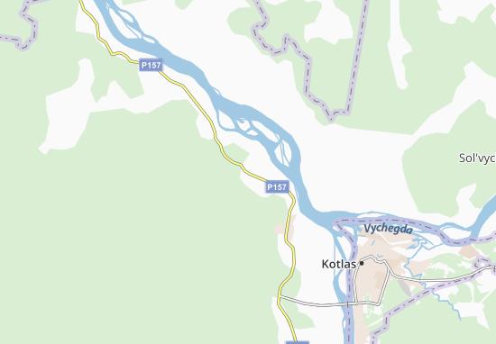 Kaart Plattegrond Novinki