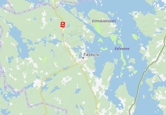 Padasjoki Map