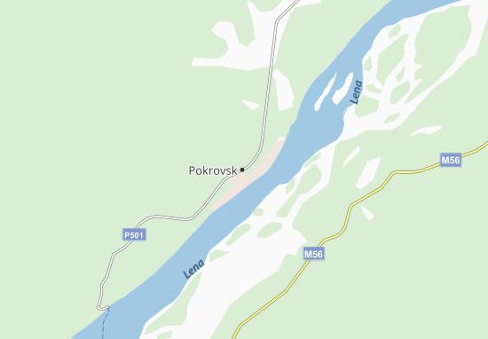 Carte-Plan Pokrovsk