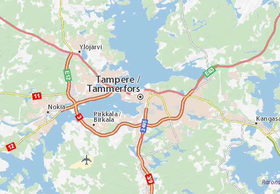 Tampere Map