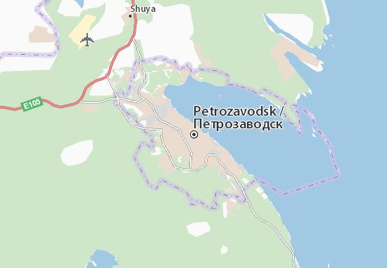 Carte-Plan Petrozavodsk