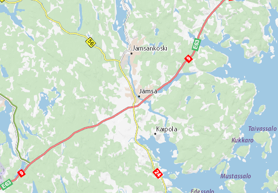 Mappe-Piantine Jämsä